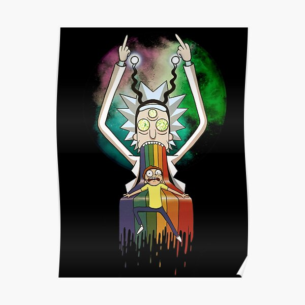 Peace among worlds - Rick & Morty (TM)  Poster
