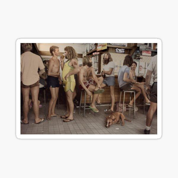 Australians At Pub Sticker