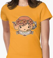 Fruit Blush Teapot Women's Fitted T-Shirt
