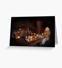 Chef - Kitchen - Maud  Greeting Card