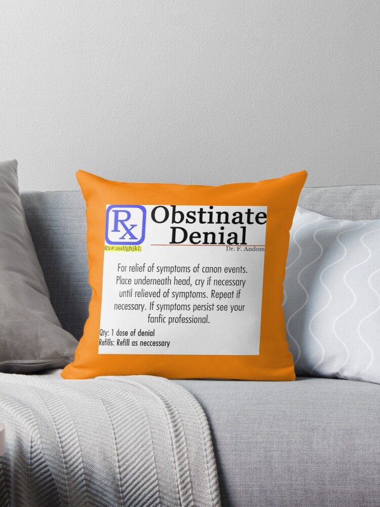 Obstinate Denial by fandomwithlove
