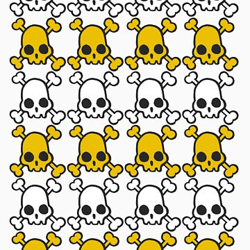 Skully: White & Yellow by departmentM