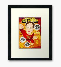 Joss Whedon Framed Print