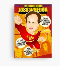 Joss Whedon Canvas Print