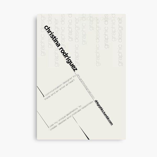 Bauhaus Logo Canvas Print