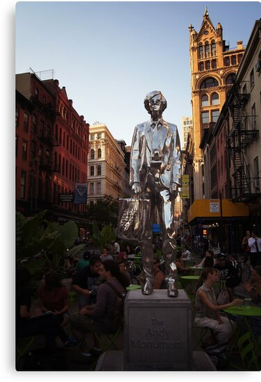 The Andy Warhol Monument in New York City by Vivienne Gucwa