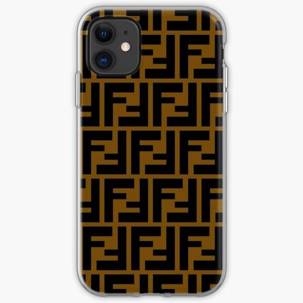 FENDI COLLAGE iPhone Soft Case