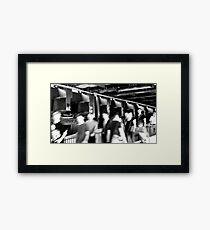 BERLIN - STATIONWALK Framed Print
