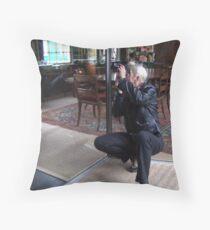Patjila in Action Throw Pillow