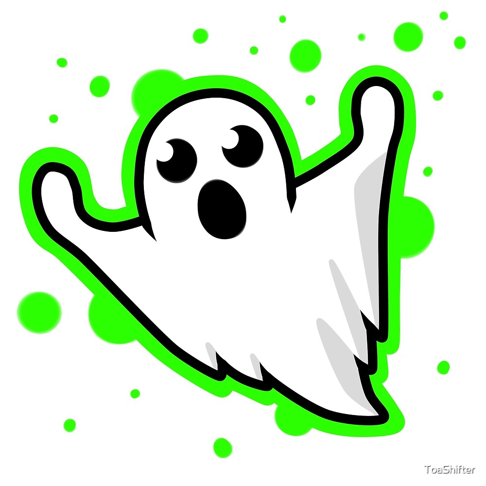 Spoopy Ghost by ToaShifter