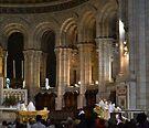 Mass at Sacré-Cœur,  by Imagery