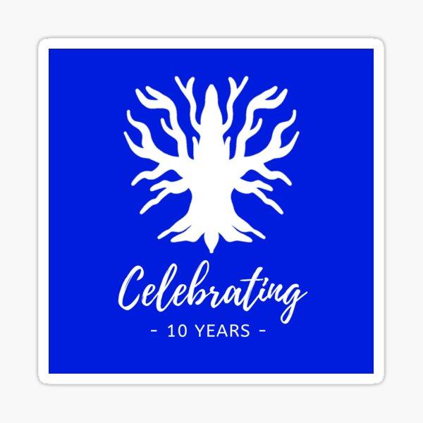 10th Anniversary of Prime Sticker