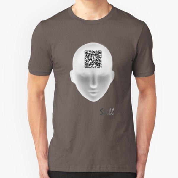 Still ~ QR Code Slim Fit T-Shirt