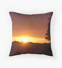 Zeeland Sunset Throw Pillow