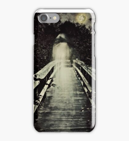 The Watcher on the Bridge iPhone Case/Skin