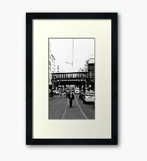 BERLIN - WALK ON FRIEDRICHSTRASSE Framed Print