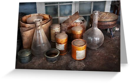 Science - Chemist - Ready to experiment by Michael Savad