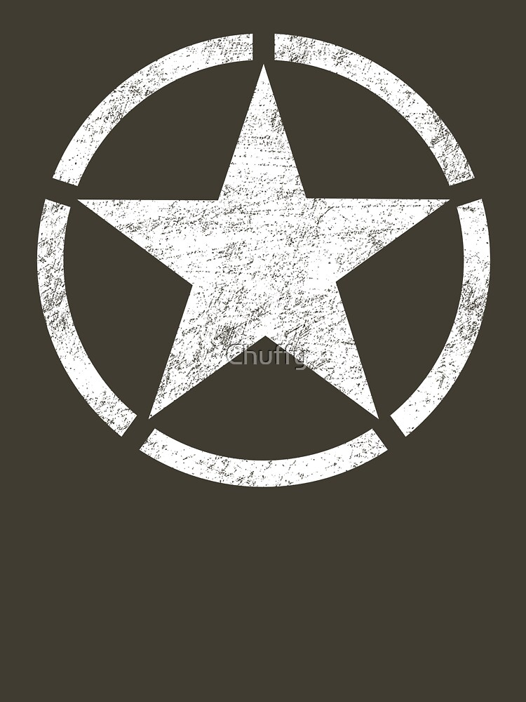 TShirtGifter presents: Vintage look US Army Star | Unisex T-Shirt
