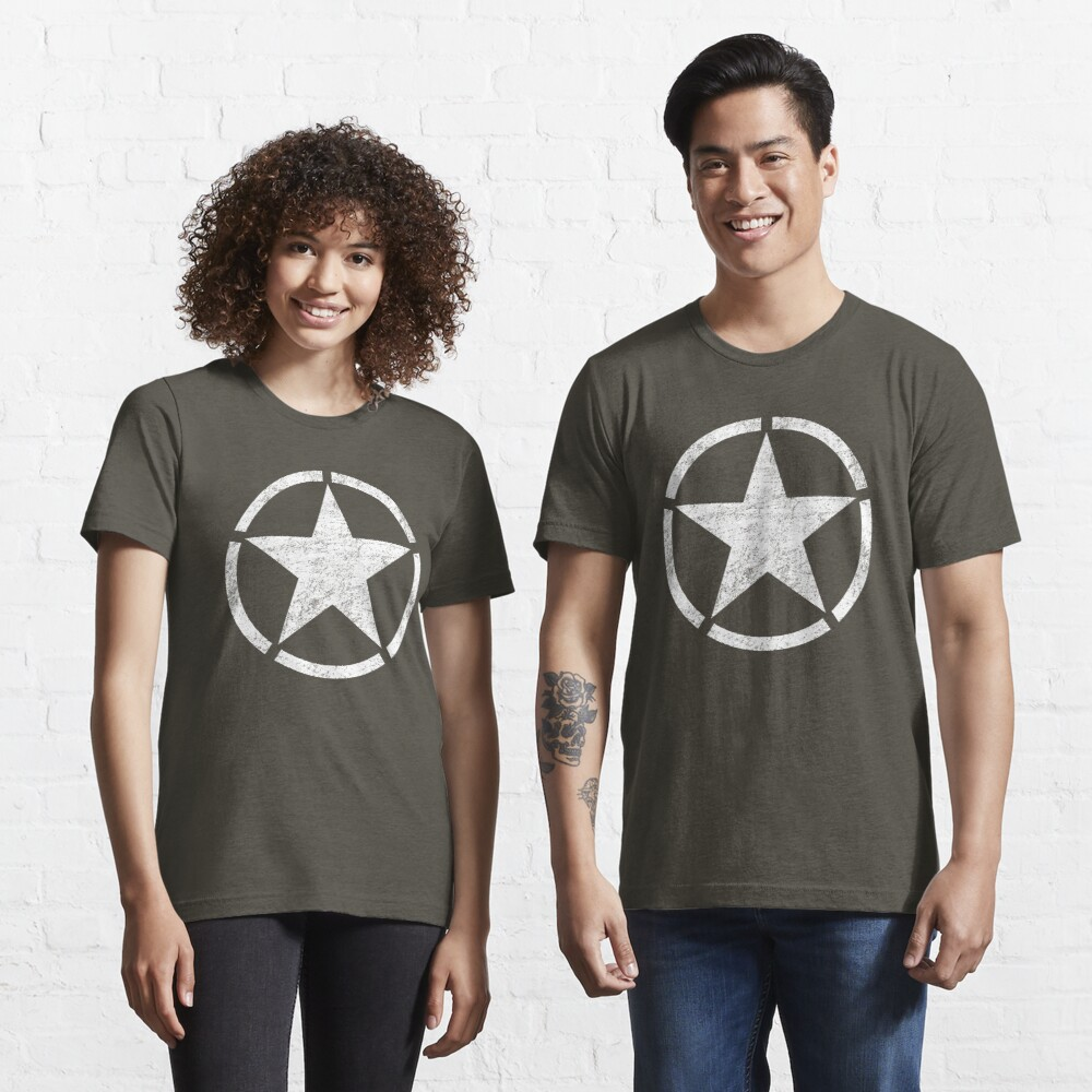 Vintage look US Army Star Essential T-Shirt