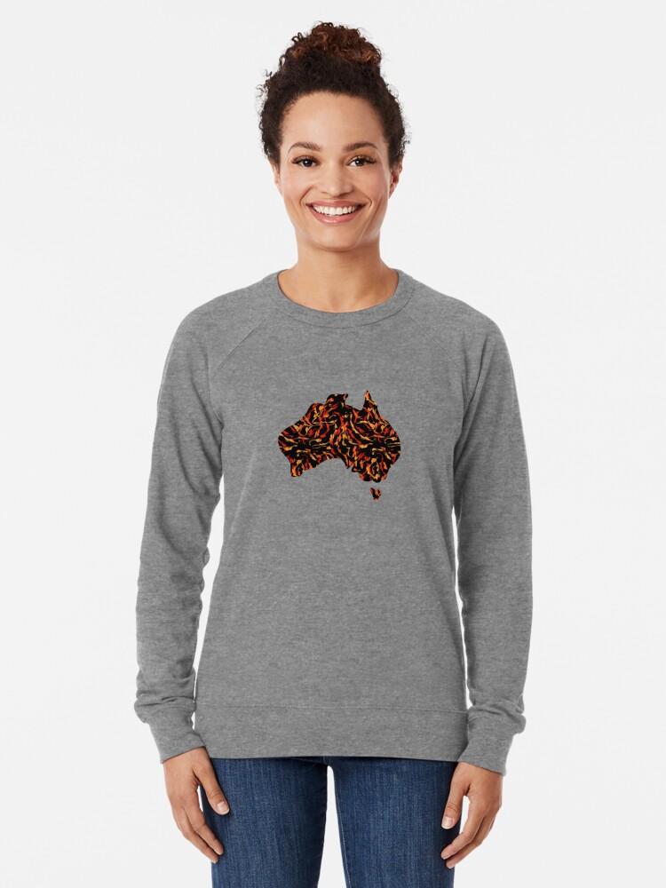 Alternate view of Wildfire Lightweight Sweatshirt