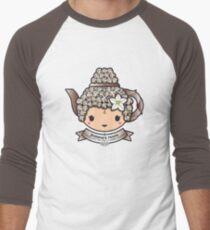 Buddha's Tears Teapot Men's Baseball ¾ T-Shirt