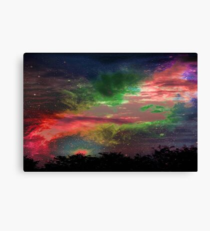 Alien Sky © Canvas Print