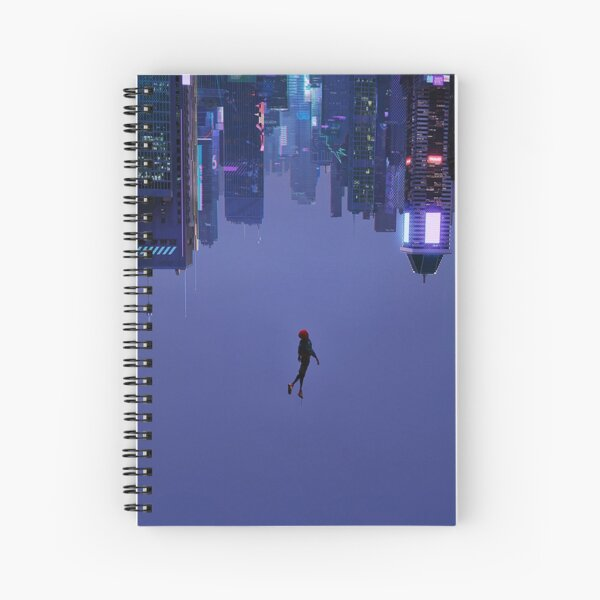 Not Falling, But Rising Spiral Notebook