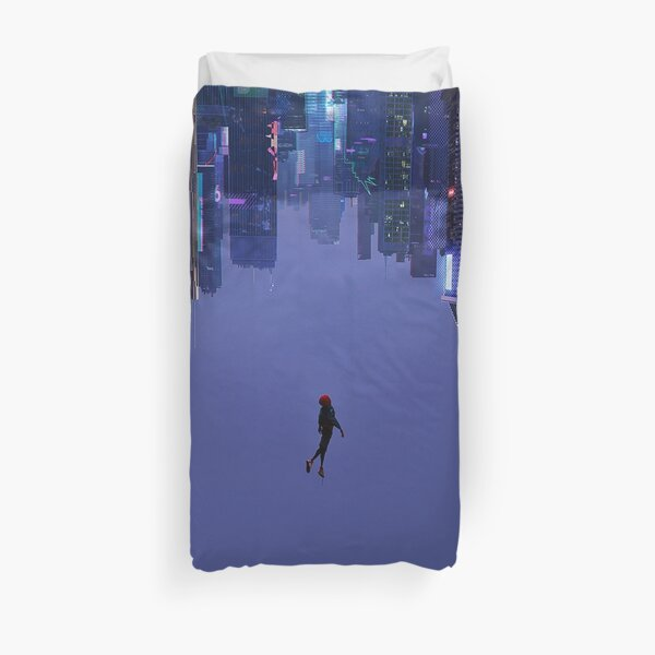 Not Falling, But Rising Duvet Cover