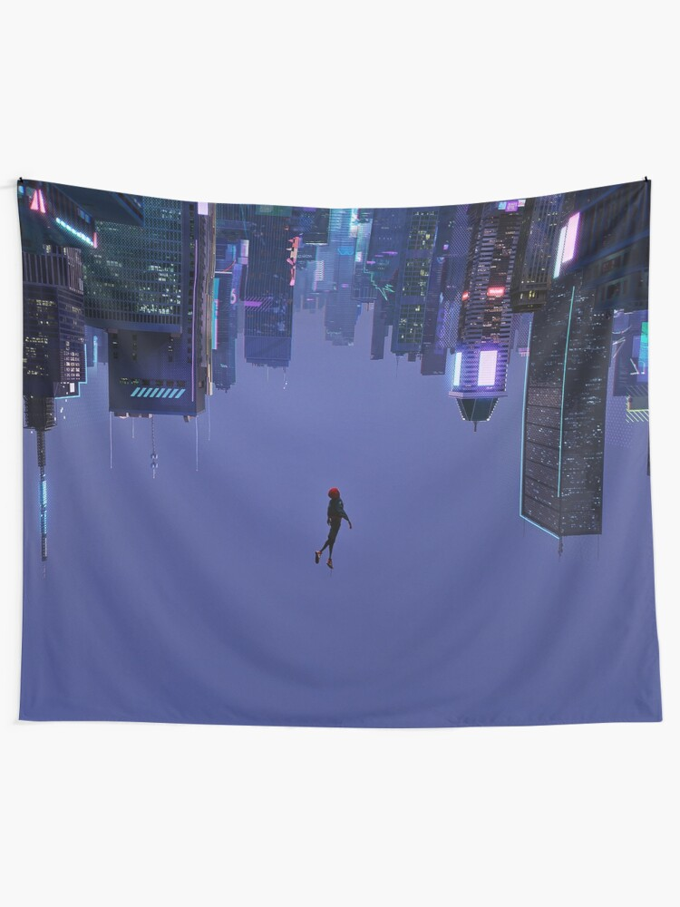 Alternate view of Not Falling, But Rising Tapestry