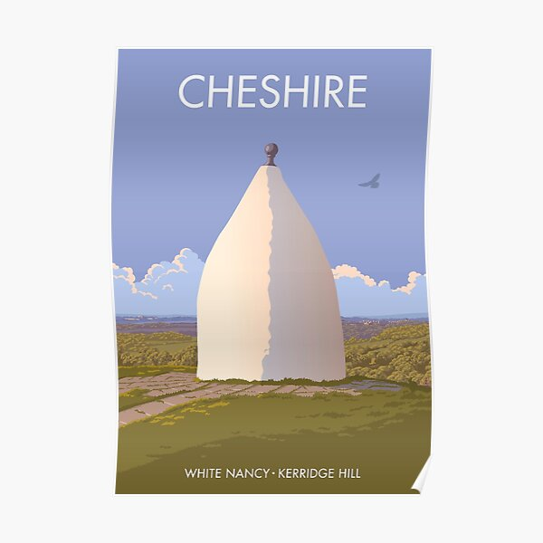White Nancy, Cheshire Poster