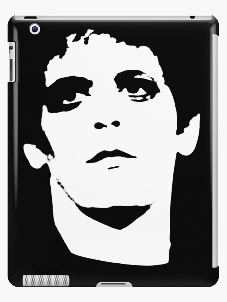 'Lou Reed Transformer Shirt' iPad Case/Skin by RatRock