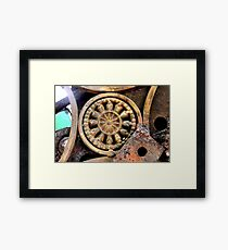 Gadget Wheel Framed Print