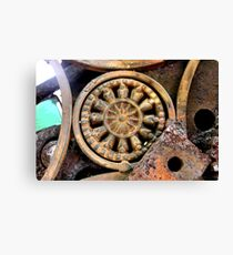 Gadget Wheel Canvas Print