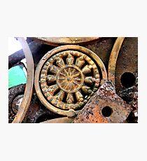 Gadget Wheel Photographic Print