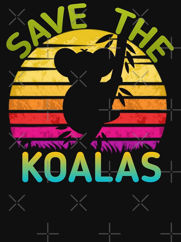 guardar la camisa de los koalas: guardar Australia, ayudar a los incendios de Australia, la camisa de Australia, de Semon