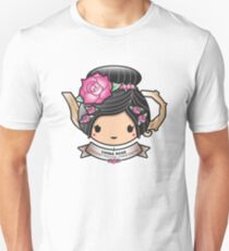China Rose Teapot Unisex T-Shirt