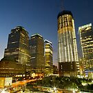 World Trade Centre Sunset by Peter Bellamy
