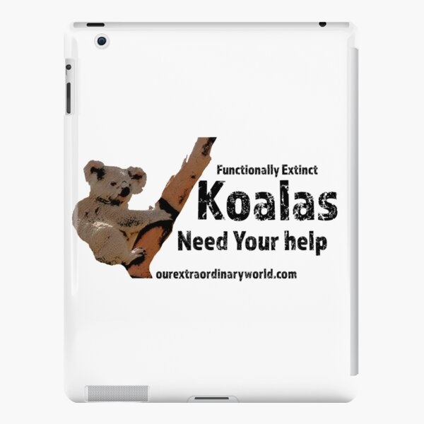 Save the Koalas and Help Australian Wildlife iPad Snap Case