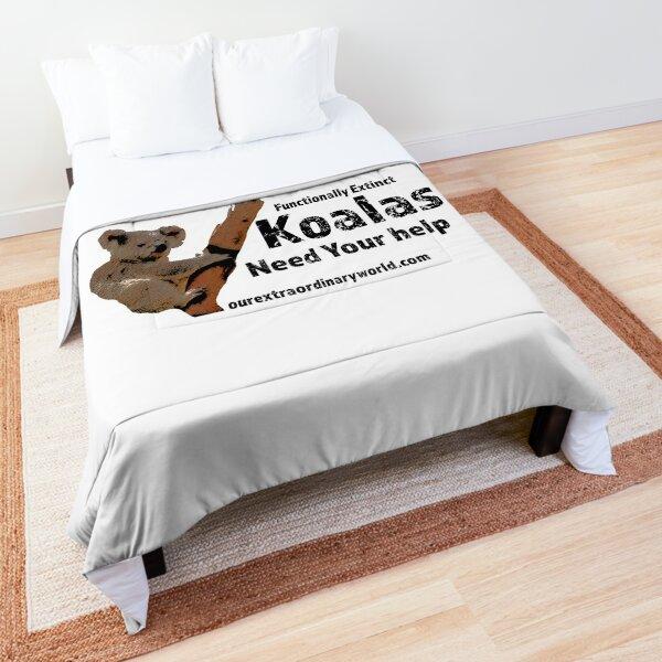 Save the Koalas and Help Australian Wildlife Comforter