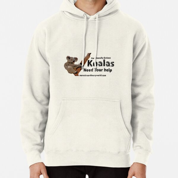 Save the Koalas and Help Australian Wildlife Pullover Hoodie