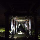 under the pier by kerrie black