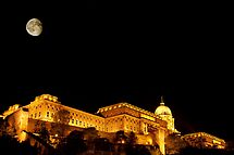 St-Lazare Moon over Budapest by Sylvain Dumas