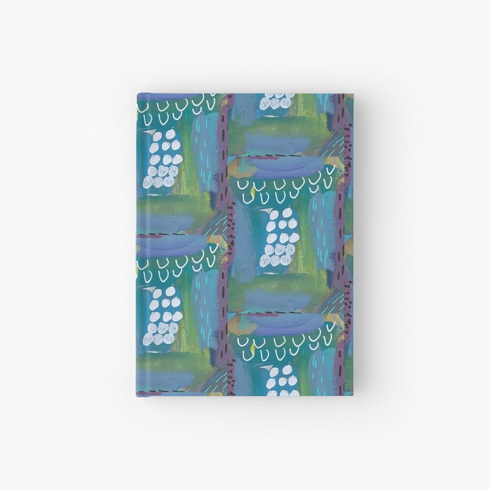 The Impression of the Electric Element  Hardcover Journal