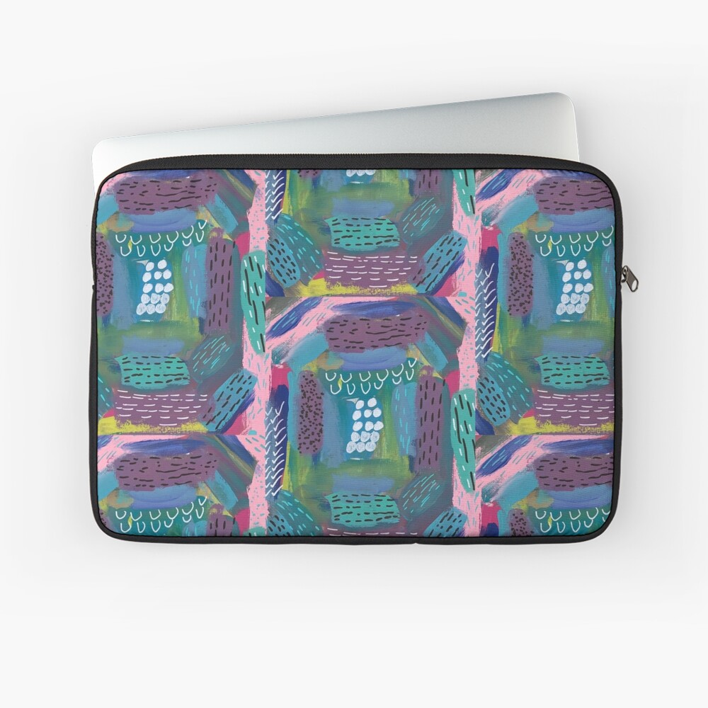 The Impression of the Electric Element  Laptop Sleeve