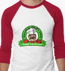 Tomato Bork Men's Baseball ¾ T-Shirt