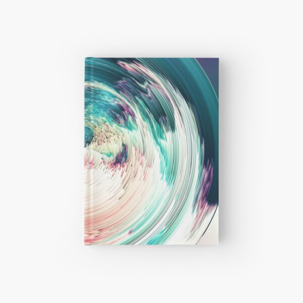 Vaporb - Surreal Abstract Sphere Hardcover Journal