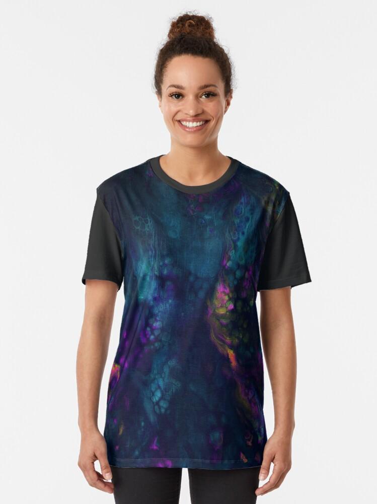 Alternate view of Daunting Graphic T-Shirt