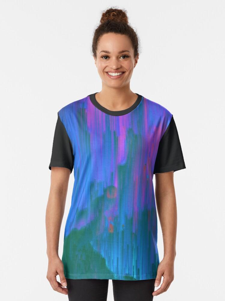 Alternate view of Neon Noir Graphic T-Shirt