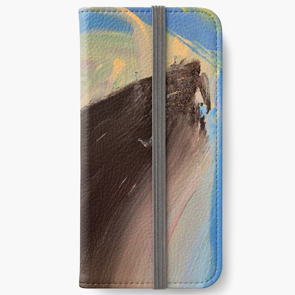 Love Might as Well Be An Ocean Away  iPhone Wallet