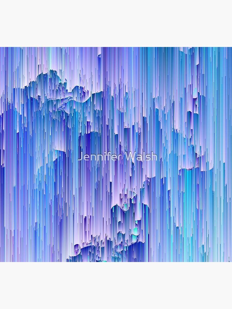 Lunar Mist - Abstract Pixel Art by InsertTitleHere
